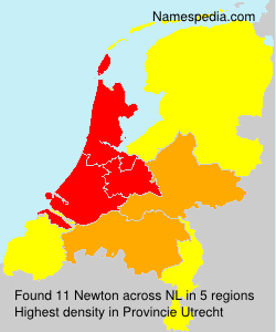 Surname Newton in Netherlands
