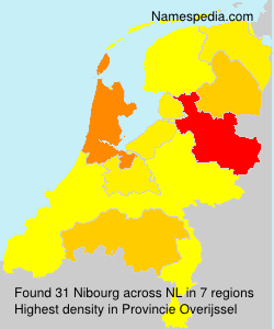 Surname Nibourg in Netherlands