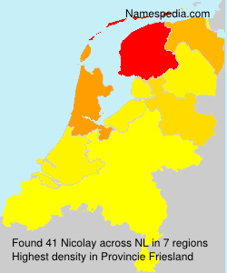 Surname Nicolay in Netherlands