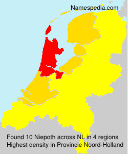 Surname Niepoth in Netherlands