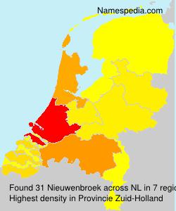 Familiennamen Nieuwenbroek - Netherlands