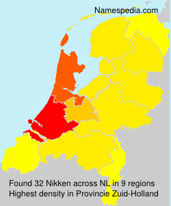 Surname Nikken in Netherlands