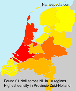 Surname Noll in Netherlands