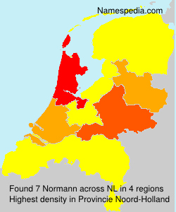 Surname Normann in Netherlands