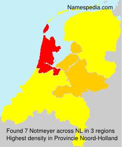 Surname Notmeyer in Netherlands