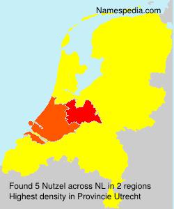 Surname Nutzel in Netherlands