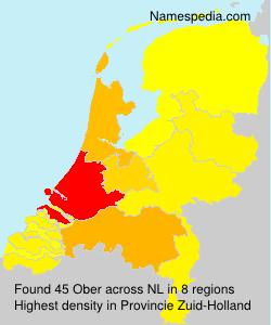 Familiennamen Ober - Netherlands