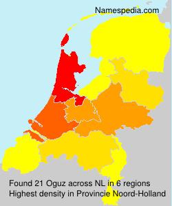 Surname Oguz in Netherlands