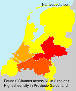 Surname Okumus in Netherlands