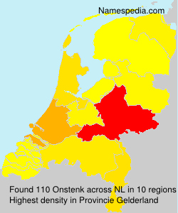 Surname Onstenk in Netherlands