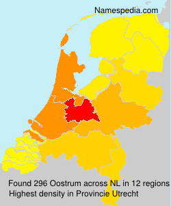 Surname Oostrum in Netherlands