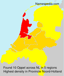 Surname Oppel in Netherlands
