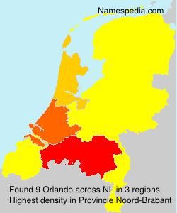 Surname Orlando in Netherlands