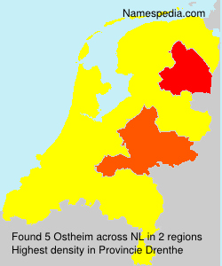 Familiennamen Ostheim - Netherlands