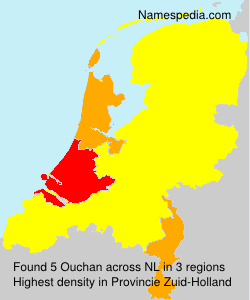 Familiennamen Ouchan - Netherlands