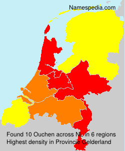 Surname Ouchen in Netherlands