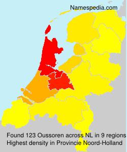 Surname Oussoren in Netherlands