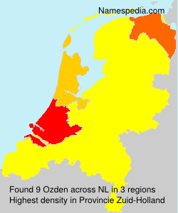 Surname Ozden in Netherlands