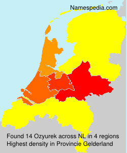 Surname Ozyurek in Netherlands