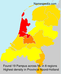 Surname Pampus in Netherlands