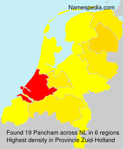 Surname Pancham in Netherlands
