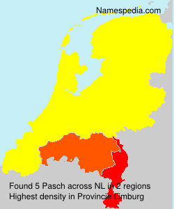 Surname Pasch in Netherlands
