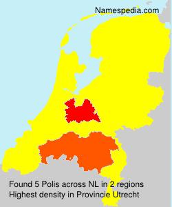 Surname Polis in Netherlands
