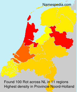 Familiennamen Rot - Netherlands