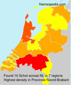 Surname Schot in Netherlands