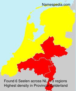 Surname Seelen in Netherlands