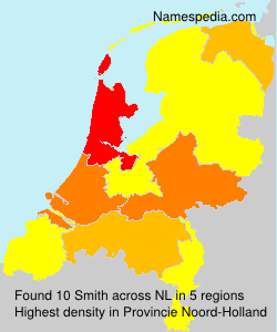 Surname Smith in Netherlands