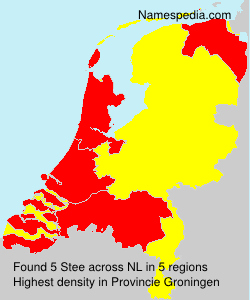 Surname Stee in Netherlands