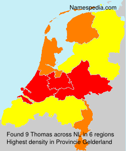 Surname Thomas in Netherlands