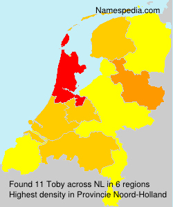 Surname Toby in Netherlands