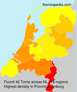 Surname Toma in Netherlands