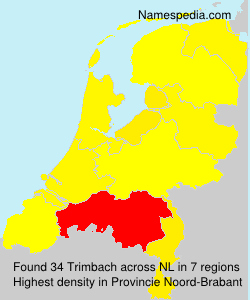 Surname Trimbach in Netherlands