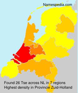 Familiennamen Tse - Netherlands