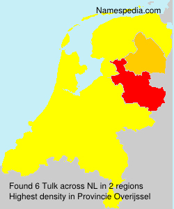 Surname Tulk in Netherlands