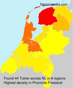 Familiennamen Tulner - Netherlands