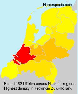 Familiennamen Uffelen - Netherlands