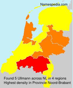 Familiennamen Ullmann - Netherlands