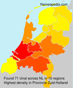 Surname Unal in Netherlands