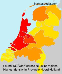 Surname Vaart in Netherlands