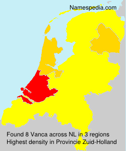 Surname Vanca in Netherlands