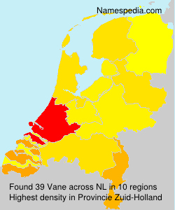 Surname Vane in Netherlands