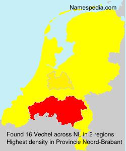 Surname Vechel in Netherlands