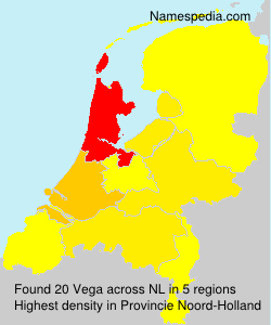 Surname Vega in Netherlands
