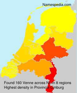 Familiennamen Venne - Netherlands