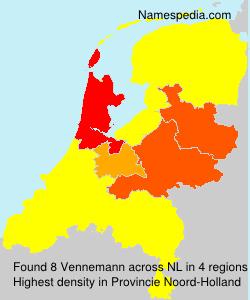 Surname Vennemann in Netherlands
