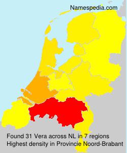 Surname Vera in Netherlands